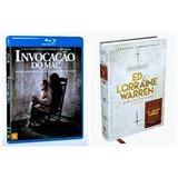 Blu Ray Invocação Do Mal + Livro Ed E Lorraine Warnen Demono