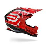 Capacete Asw Fusion 2017 Vermelho - Motocross Trilha Enduro