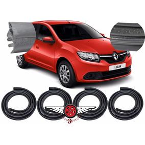 Kit Vedação Borracha Renault Logan 4 Portas Original
