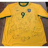 Camisa Brasil Olimpíadas Sydney 2000 De Jogo Autografada 67cd601a96352