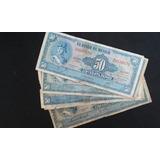 Billete Mexicano 50 Pesos Allende Azul Circulado !