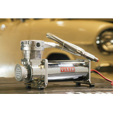 Compresor 12v. Suspension Neumatica Viair 480c Cromado