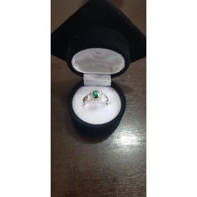 Anel De Formatura Grau Feminino Prata 950 Emblemas Ouro 18k