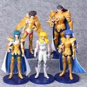 Cavaleiros Do Zodíaco Saint Seiya Kit Com 5 Personagens