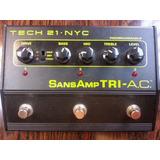 Distorsion Tech 21nyc Sansamp Tri-ac Made In Usa