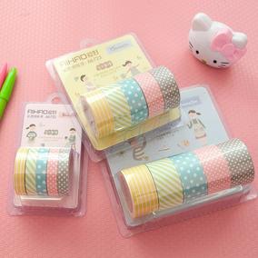 15 Rolos De Fita Adesiva Washi Tape Scrapbook 8/15/20mm X 5m