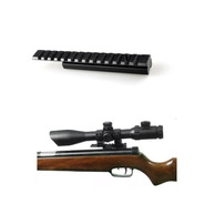 Adaptador Riel Picatinny 11 A 20mm Weaver 15cm Largo