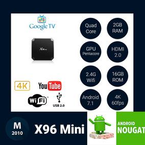 Android Tv Box 2017 X96 Mini Android 7.1 4k 2gb 16gb