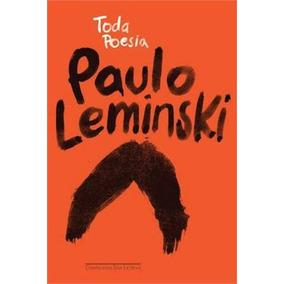 Livro Toda Poesia De Paulo Leminski - Novo