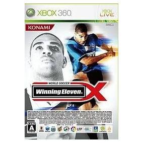 Winning Eleven Xbox 360 (japones) Ntsc-j (frete Gratis)