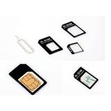 10 Adaptador Celular Nano Chip Mini Micro Sim Card Aeior@