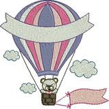 Matriz Bordado Balões Lindos - 17 Matrizes