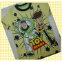 Ropa Franelas Para Niños Toy Story, Woody, Buzz Lithgyear