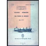 Reglamento Internacional Para Prevenir Los Abordajes 1972
