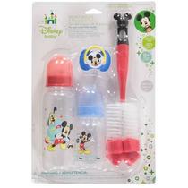 Kit 4 Peças - Mamadeira,chuquinha,chupeta E Escova - Mickey