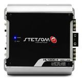 Modulo Stetsom Hl1200 X 4 Amplificador 1200w Rms 4 Canais