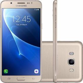 Celular Samsung Galaxy Sm-j710 J7 Metal Duos Dourado