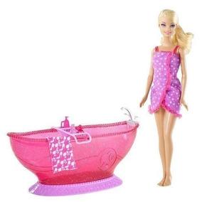 Bañera Barbie (incluye Muñeca)
