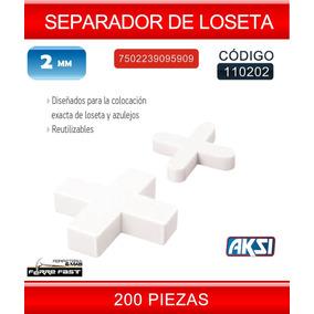 Separador De Loseta 2mm 110202 Aksi Ferre Fast