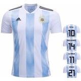 Camisão Da Seleção Argentina, Argentina, Oficial Barato