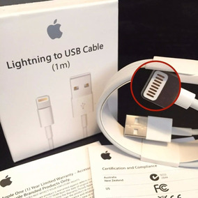 Cable Cargador Original Iphone 5 6 7 Ipad Ipod Envio Gratis