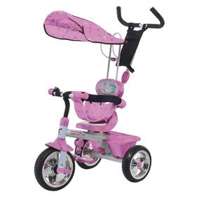 Triciclo Mega Art.580 Rosa Edad 1 A 3 Años Biemme