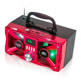 Caixinha Som Bluetooth Portátil M224bt Mp3 Radio Mini Caixa