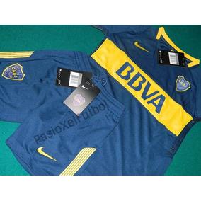 Conjunto Niño Nike Boca Juniors 2017/8 Original Liquidación