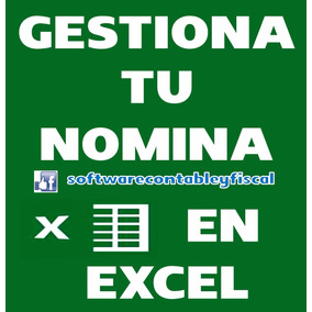 Gestiona Tu Nomina En Excel
