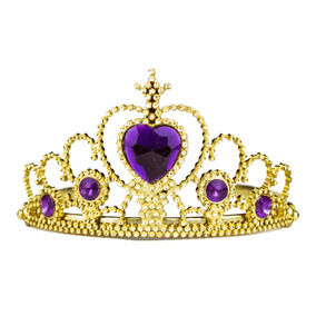 12 Tiaras Princesa Corona Reina Despedida Fiestas