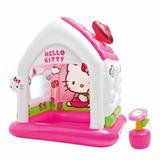Casita Casa De Juegos Inflable Hello Kitty Intex Rosa Niña
