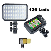 Iluminador Led 126 Godox Cameras Dsrl Canon Nikon Filmadora