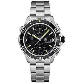 Tag Heuer Hombre Aquaracer Cronógrafo Reloj De Acero Inoxid