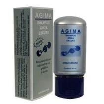 Shampoo Cinza Escuro Agima 80ml P/ Cabelos Brancos Grisalhos