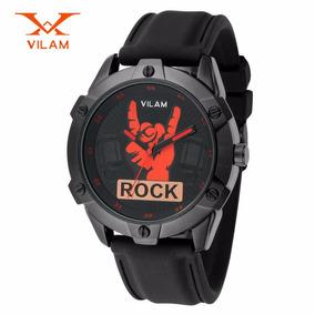 Reloj Hombre Deportivo Rock Metal Edición Limitada Oferta