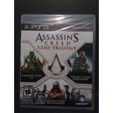 Assassins Creed Ezio Trilogy.-ps3