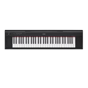 Piano Digital Yamaha Np-12b Piaggero Preto Com Usb 61 Teclas