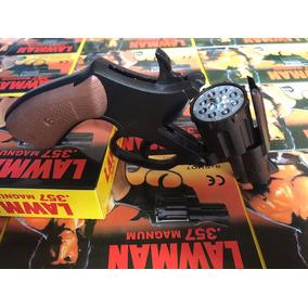Revolver Rambo +12 Cartelas De Brinquedo + Frete Grátis