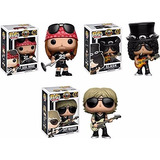 Axl Rose Slash Y Duff Mckagan Funko Pop Guns N Roses