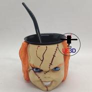 Mate Chucky Impreso En 3d