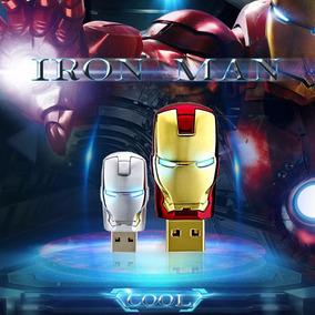 Pen Drive 32gb Marvel Homem De Ferro
