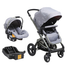Coche Travel 5026 Melange Gris