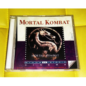 Mortal Kombat Cd Música Minha História Cinema