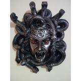 Figura De Resina Dioses Griegos Medusa ( Gorgona )