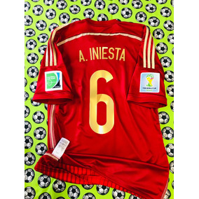 Jersey Camiseta adidas Seleccion De España 2014 Lniesta 8a36df7f500cd