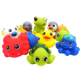 Bathin Buddies Set De 6 Piezas Surtidas Animalitos Flotadore