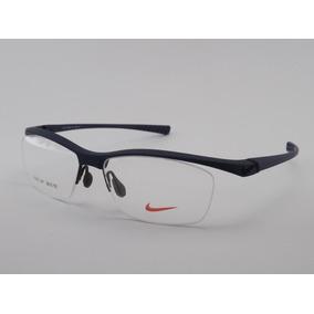Armação Para Óculos De Grau Nike 7070 Azul