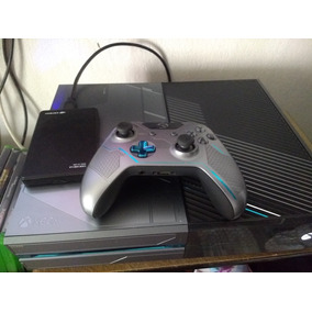 Kit Combo Xbox One Edição Halo 5 1 Tera