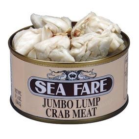 Sea Fare Jumbo Lump La Carne De Cangrejo, 6,5 Onza