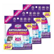 Repuesto Aire Pur Antihumedad Perfumante Lavanda Pack 3un